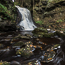 Hareshaw Linn waterfall in Autumn